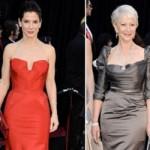 Las Mejores Vestidas del Oscar 2011