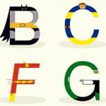 Diseño: El ABC de los superheroes y más