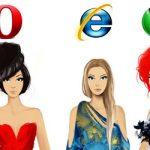 Ilustración: navegadores y alta costura