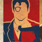 Ilustración: Superhéroes y sus alter-egos