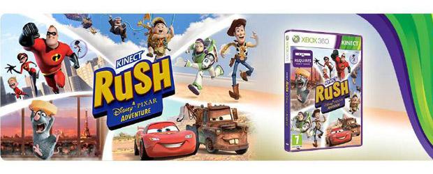 Concurso Gana El Juego Kinect Rush Una Aventura Disney Pixar