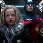 Comercial con los Little Avengers