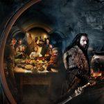 Increíble banner panorámico de The Hobbit