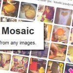 PrintMosaic: tu foto como mosaicos con las imágenes de Facebook, Instagram o Dropbox