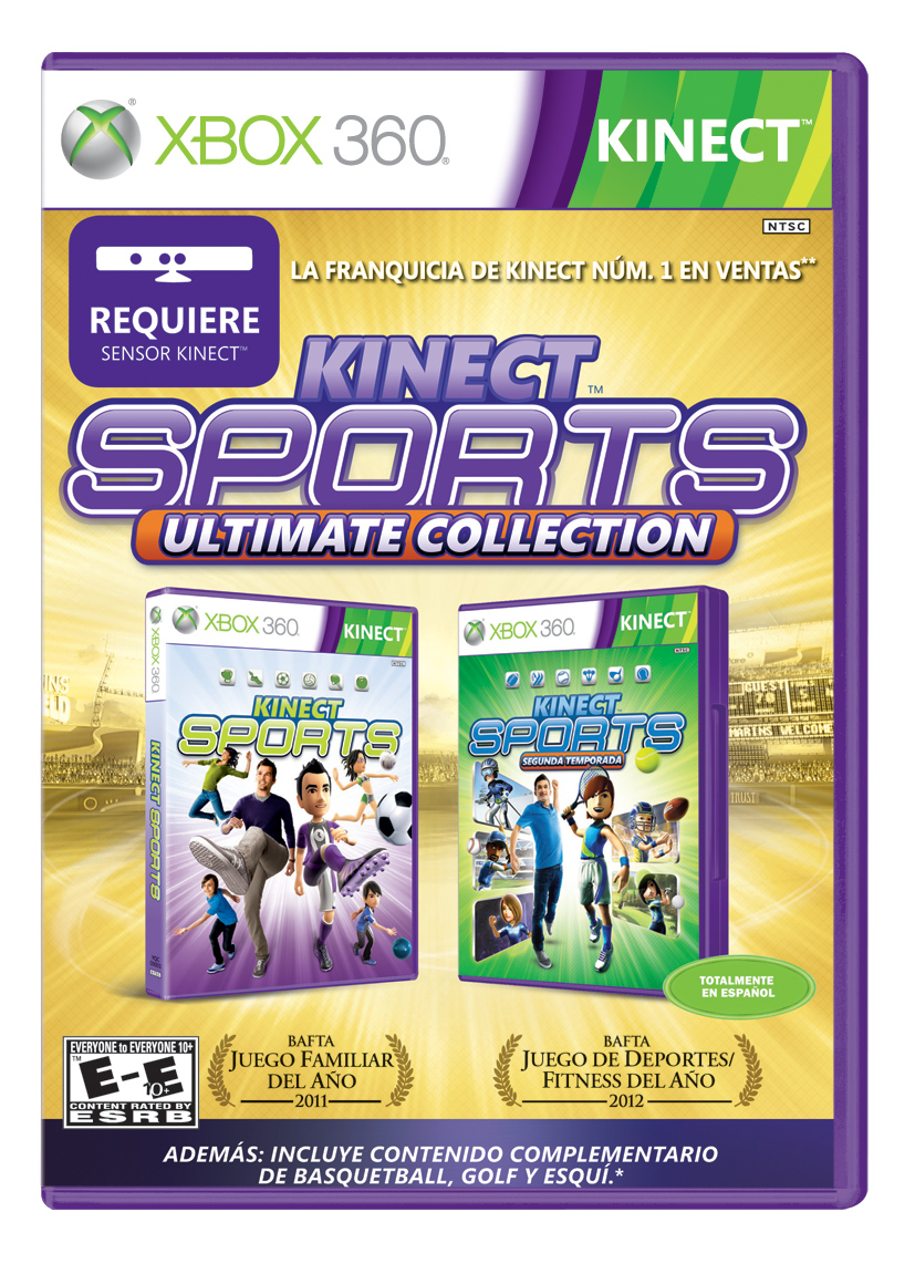 Concurso Kinect Sport Ultimate Collection Llego La Hora De