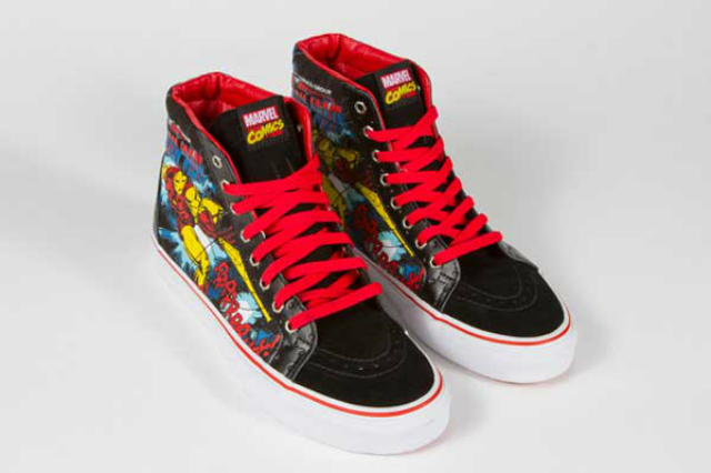 vans marvel zapatillas