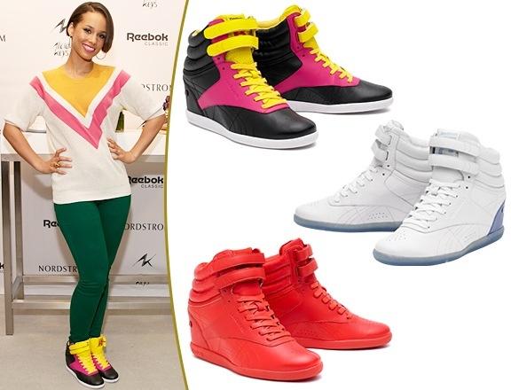 4a923dbf839fc REEBOK lanza zapatillas con taco de ALICIA KEYS - estilo es actitud