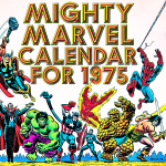 Calendario para tu escritorio de marvel 2014/1975