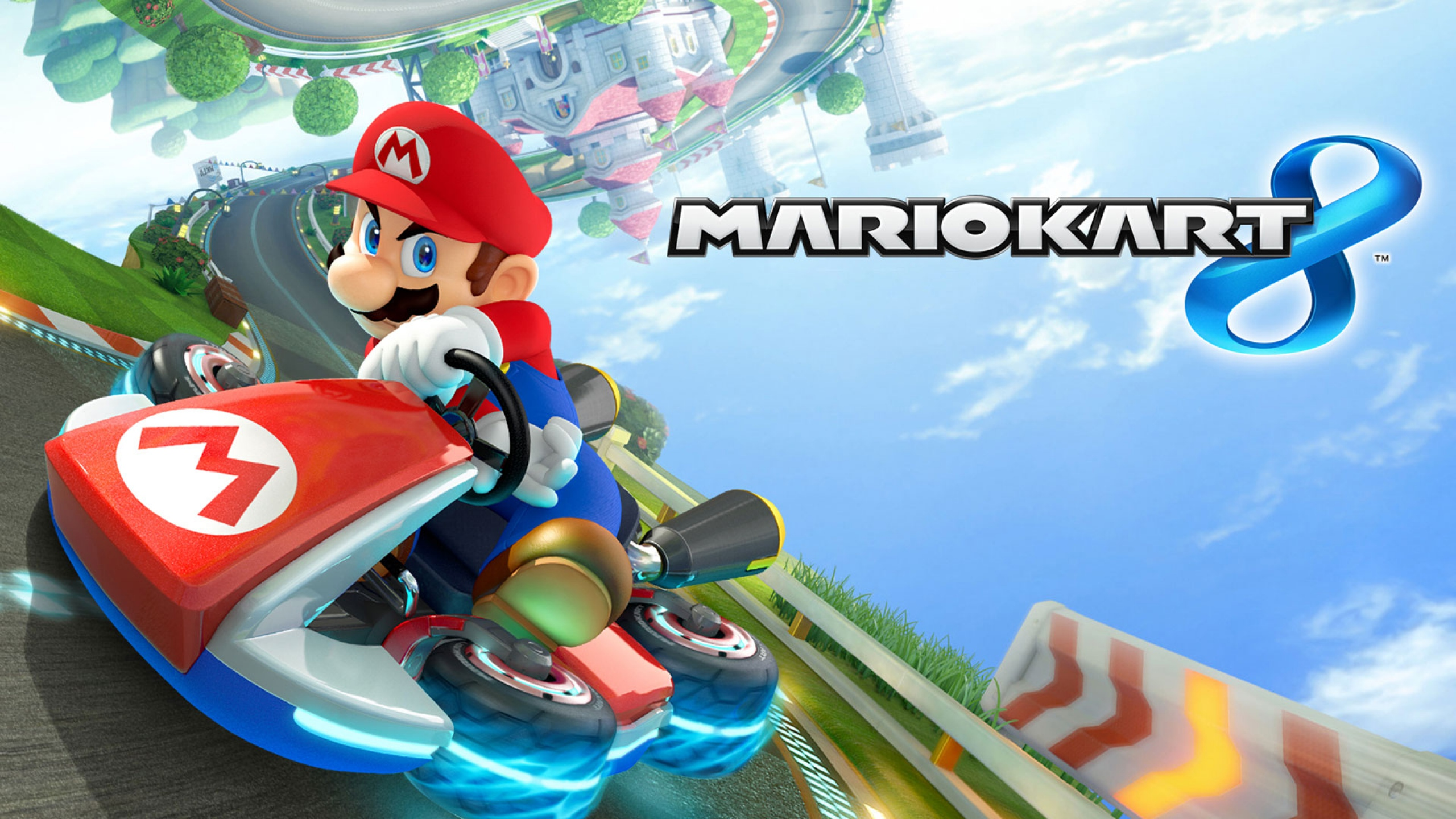 Wii u se pone en movimiento con mario kart 8 geek chic for Coupe miroir mario kart wii