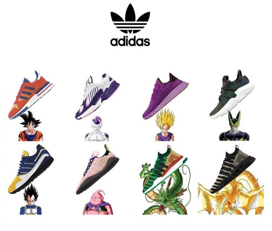 adidas goku zapatillas